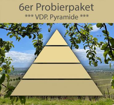 VDP Pyramide trocken, frachtfrei 6x0,75l